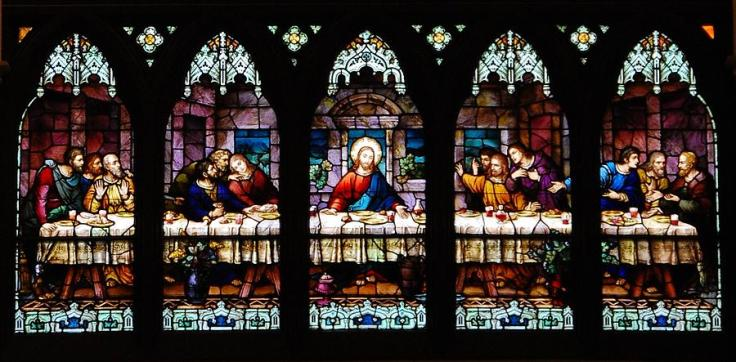 the-last-supper-window-kristine-mcnamara